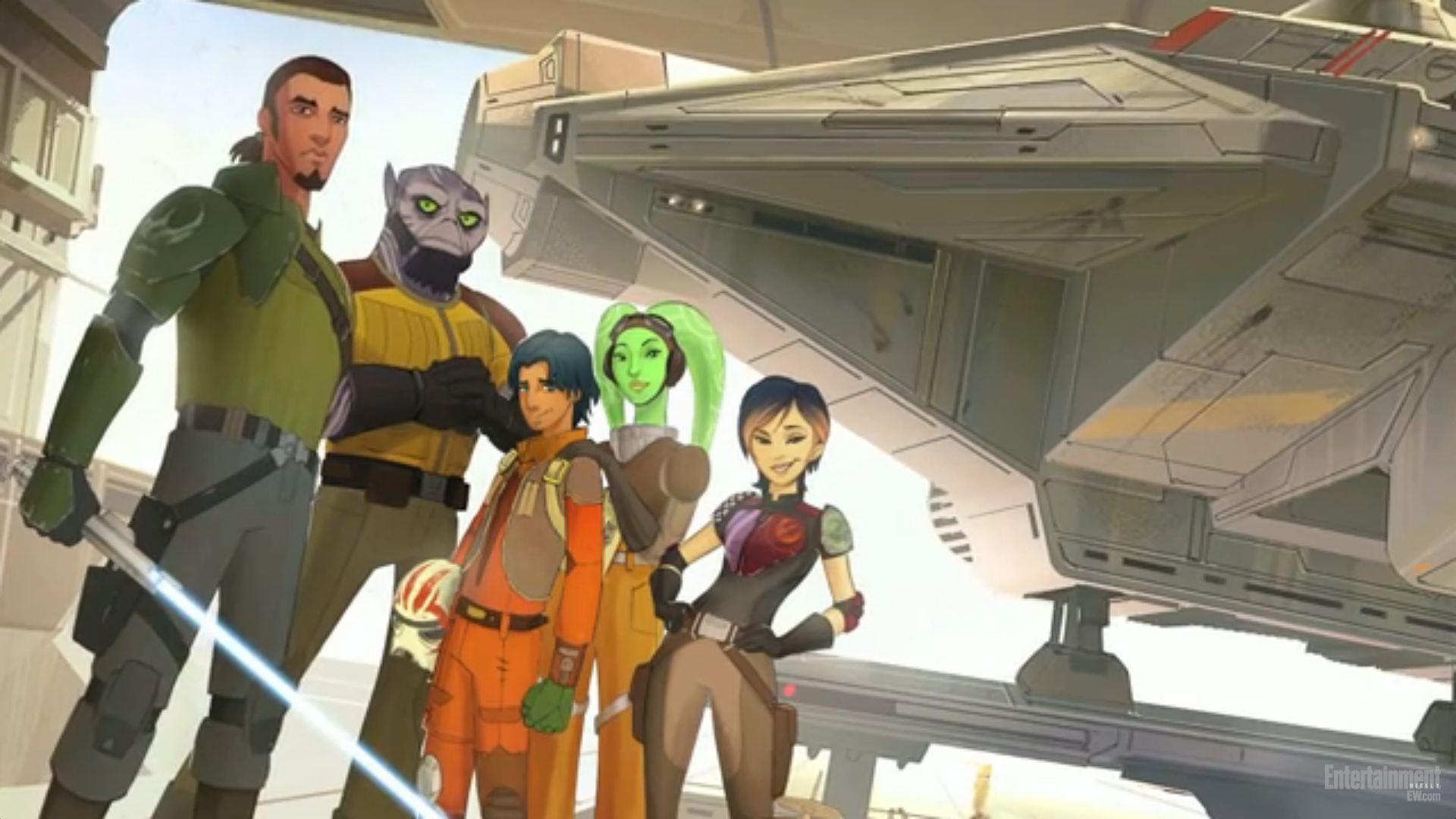 Star Wars Rebels Disney Infinity Characters