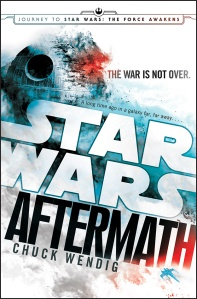 Wendig, Chuck. Star Wars: Aftermath Cover. Digital image. Star Wars. LucasFilm, Disney, n.d. Web. 17 Mar. 2015.