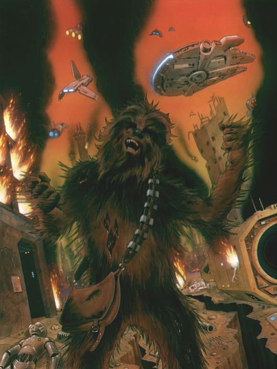 Chewbacca's Sacrifice