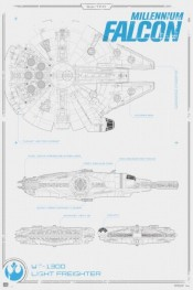 maxi-poster-star-wars-millennium-falcon-580x873