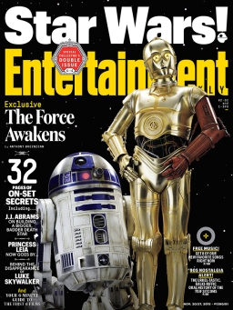 Our favorite droids are back! But something is a little different. Threepio has a red arm! We are still uncertain of the origin but we can expect to see the answer revealed next month with is own comic!