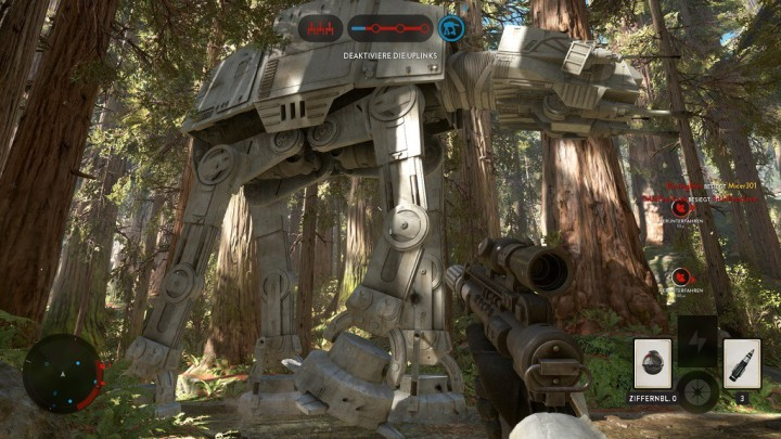 Battlefront Endor Screenshot