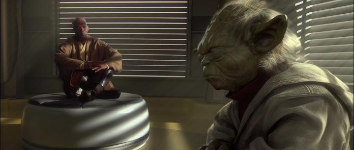 Mace Windu, Yoda, Attack of the Clones | The Hoth Spot