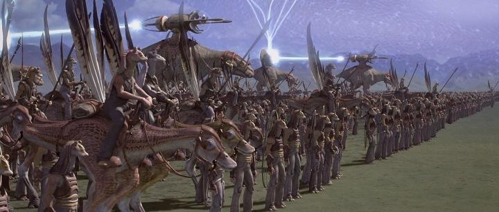 Gungan Army from The Phantom Menace | The Hoth Spot