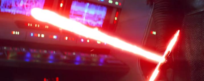 Kylo's lightsaber
