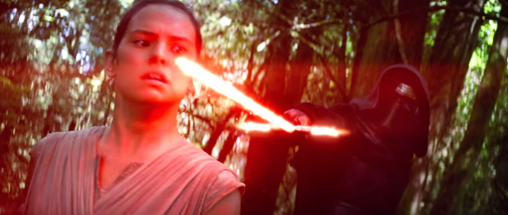Seriously, Rey is going to pull out a lightsaber and this is going to be an epic duel.