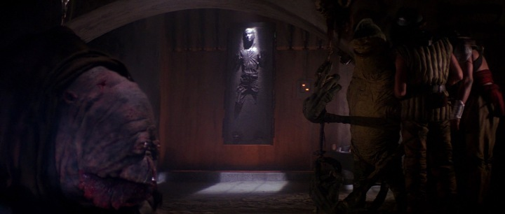 Han Solo in Jabba's Palace   The Hoth Spot