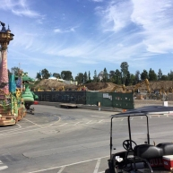 Behind the Scenes of the Location at Disneyland.